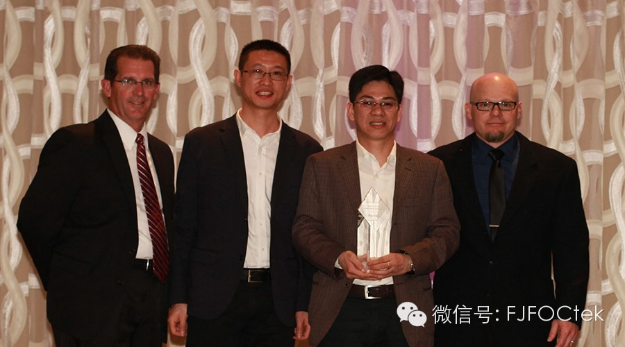 Our company won three awards at the 2014 DANAHER Group Global Supplier Annual Meeting!