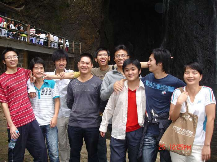 The company organized a one-day tour to Yongtai on September 25